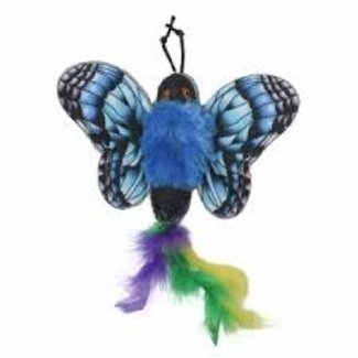 Happy Tails Green & Blue Butterfly Teaser