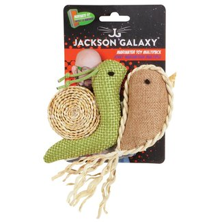 Jackson Galaxy 2 Pack Marinater Snail & Narwhal
