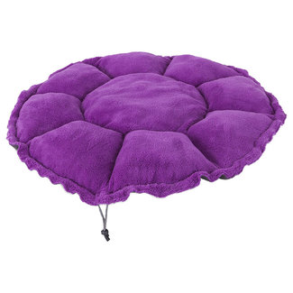 Jackson Galaxy Purple Clamshell Bed