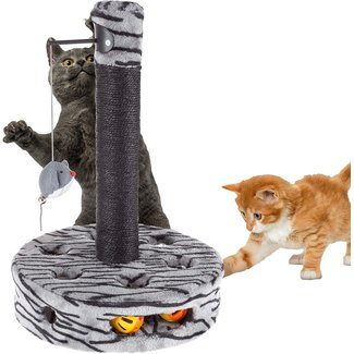 Petmaker Grey Interactive Toy