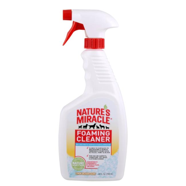 Natures Miracle 24oz Lemon Foaming Cleaner