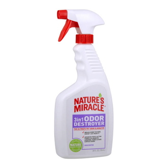 Natures Miracle 24oz 3 in 1 Odor Destroyer Unscented