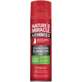 Natures Miracle 17.5oz Cat Foam Stain & Odor Cleaner
