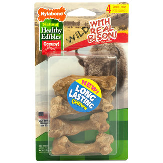 Nylabone 4 Pack Small Bison Chews