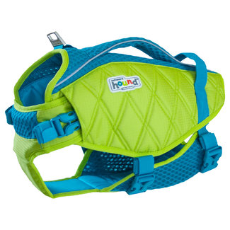 Outward Hound Green Life Jacket
