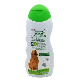 Pampered Pooch 2 in 1 Shine & Detangle