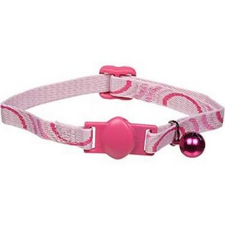 Petmate Pink Breakaway Cat Collar