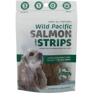 Snack 21 25g Salmon Jerky Strips
