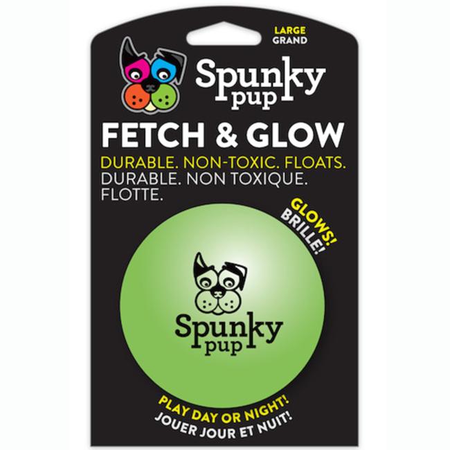 Spunky Pup Fetch & Glow Ball