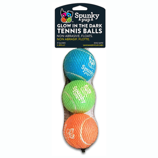 Spunky Pup 3 Pack Glow Balls