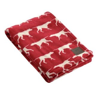 Tall Tails Red Blanket