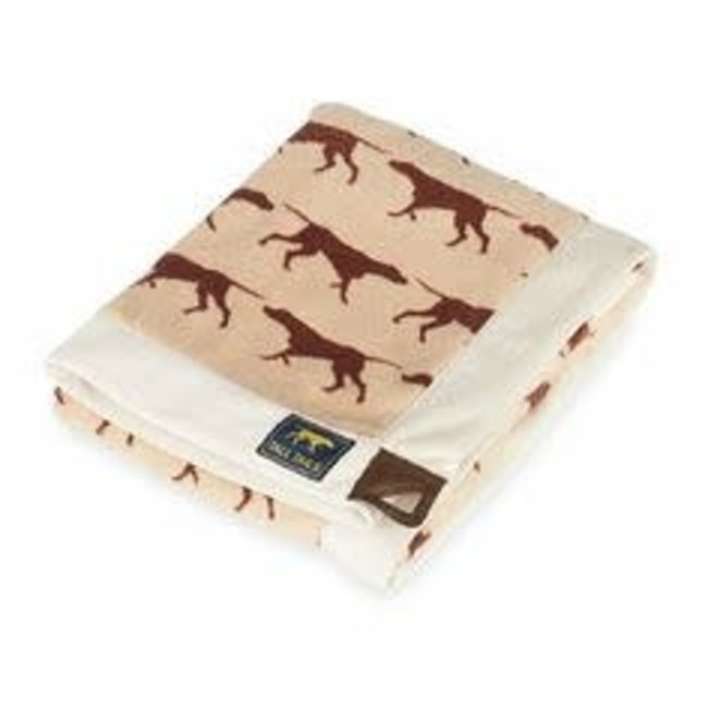 Tall Tails Tan Blanket