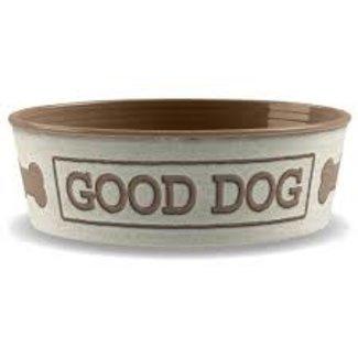 TarHong Good Dog White Bowl