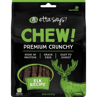 Treat Planet Chew! Premium Crunchy Elk