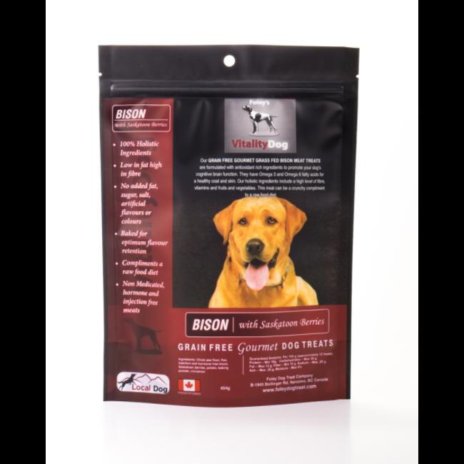Vitality Dog Bison & Saskatoon