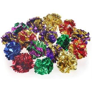 Wonpet Foil Crinkle Ball