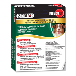 Zodiac Infestop Dogs 11 kg to 25 kg