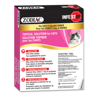Zodiac Infestop Cats under 4 kg