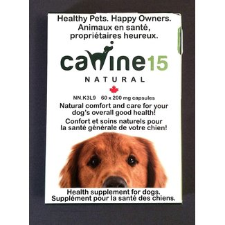 Canine 15 60 Pack Joint Supplement