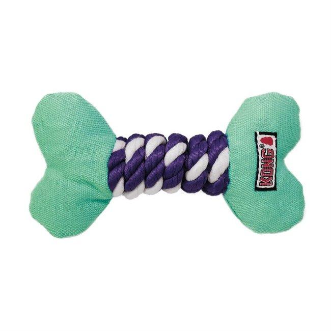 Kong Dots & Daisies Bone Dog Toy X-Small