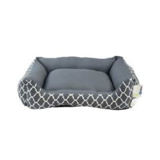 Unleashed Grey Lounger 20x16x5""