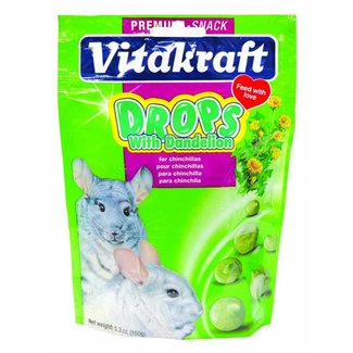 Vitakraft Chinchilla Drops Dandelion 5.3oz*Reg 8.99*
