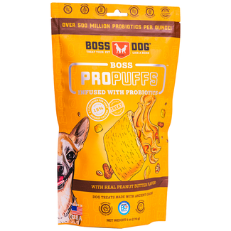 Boss Dog 170g ProPuffs Peanut Butter