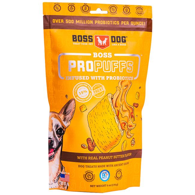 Boss Dog 170g ProPuffs Peanut Butter
