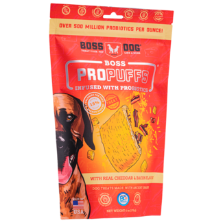 Boss Dog 170g ProPuffs Cheddar & Bacon