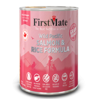 FirstMate 12.2 oz Cat Salmon & Rice