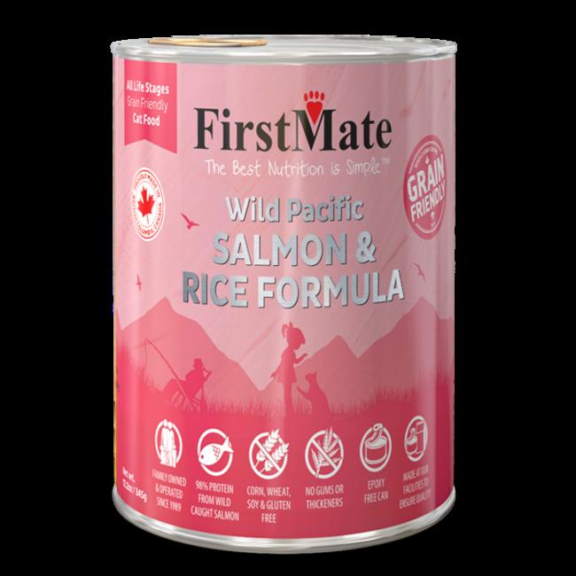 FirstMate 12.2 oz Cat Salmon & Rice