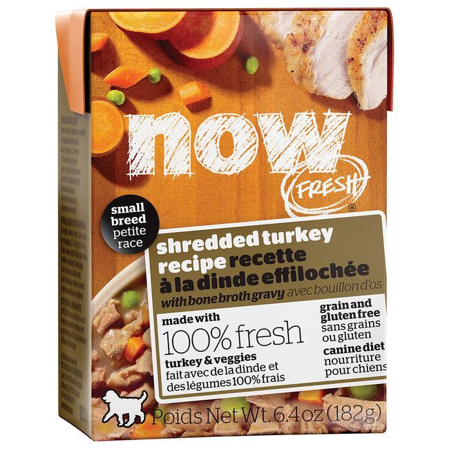 Now Fresh 6.4oz Small Breed Turkey with Bone Broth