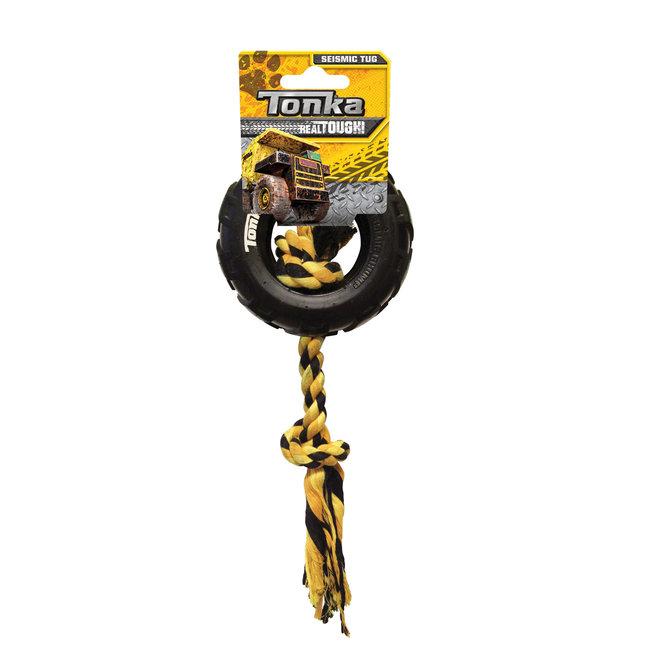 "Tonka 3.8"" Small Tire with Rope Tug"