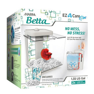 Marina Betta EZ Care Plus Aquarium Kit 5 L /1.35 gal