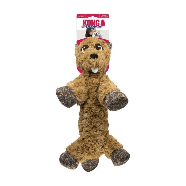 Kong Med Low Stuff Flopzie Beaver