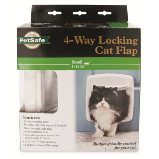 PetSafe 4-Way Locking Interior / Exterior Cat Door
