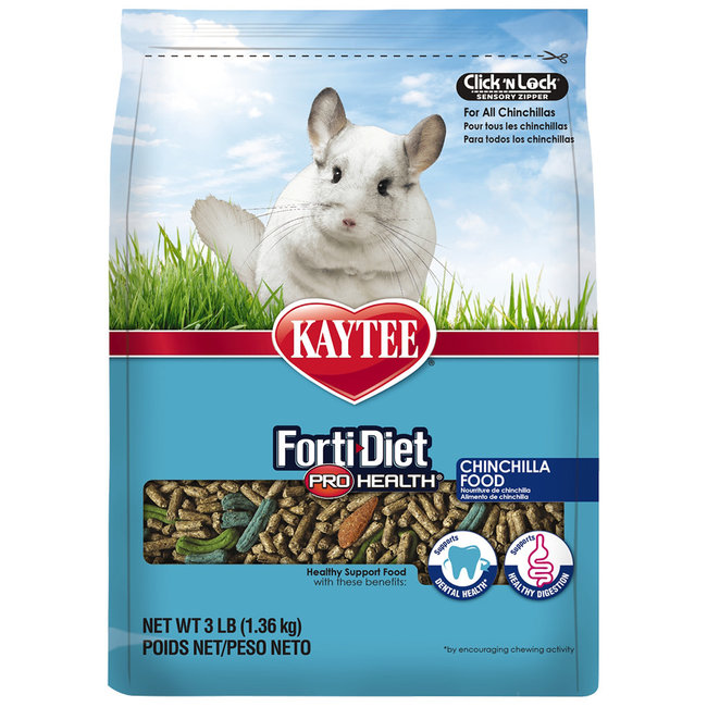 Kaytee 3lb Forti-Diet ProHealth Chinchilla Food