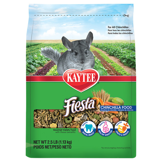 Kaytee 2.5lb Fiesta Chinchilla Food