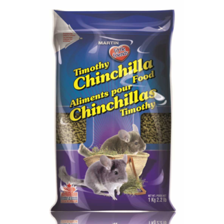 Martin 2.2lb Timothy Chinchilla Food