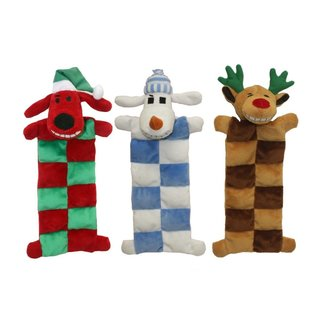"Multipet 12"" Holiday  Xmas Squeaker Mat"