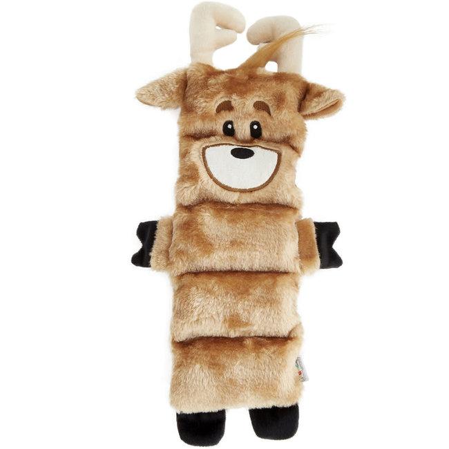 Outward Hound 5 Squeaker Reindeer