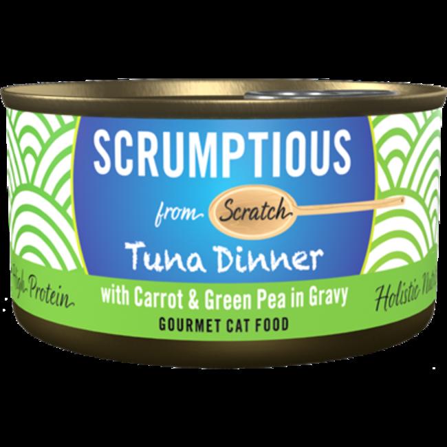 Scrumptious 2.8oz Tuna Dinner Carrot & Green Pea in Gravy