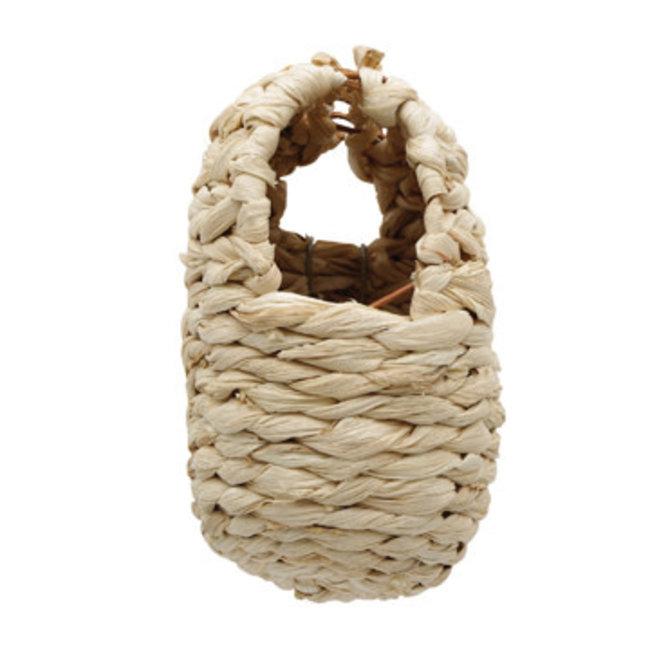 "Living World Maize Peel Bird Nest for Finches  -4 x 5 x 6"""