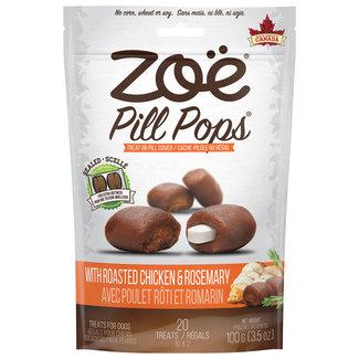 Zoe 100g Pill Pops -Roasted Chicken & Rosemary
