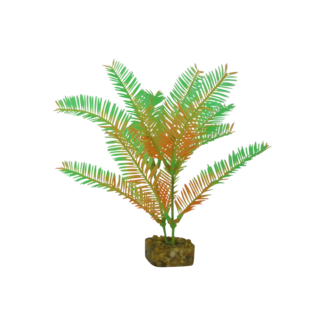 GloFish Medium Green/Orange Plant