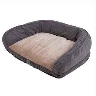 "Precision Grey Chevron Couch Daydreamer 35x27x11"""