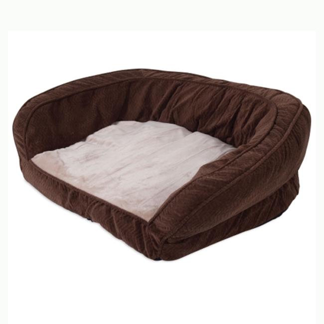 "Precision Chocolate Chevron Couch Daydreamer 42x34x11.5 """