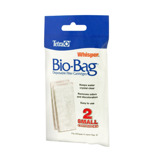 Tetra 2 Pack Small Whisper Bio Bag Cartridge