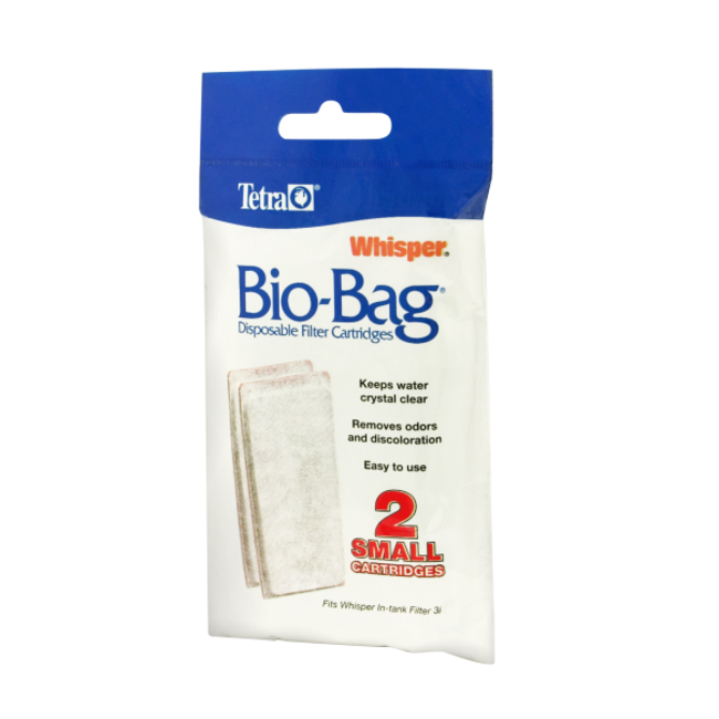 Tetra 2 Pack Small Whisper Bio Bag Cartridge