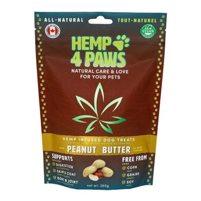 Hemp 4 Paws 250g Peanut Butter Hemp Infused Treats